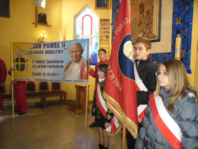 Marsz szlakiem papieskim