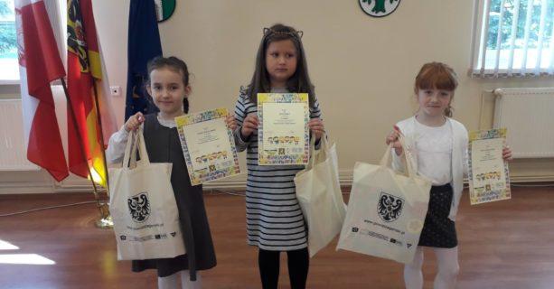 Sukces pierwszaków w Powiatowym Konkursie Logopedycznym