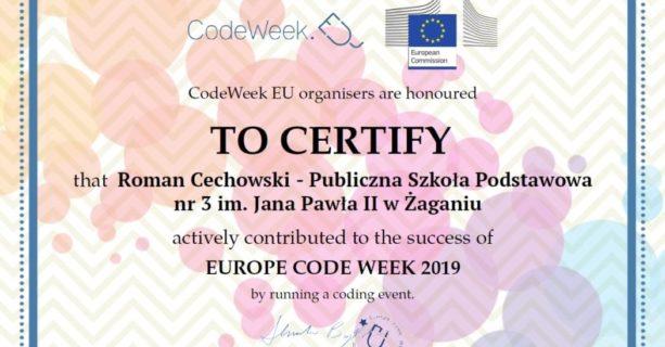 #CodeWeek - 5–20 października 2019 r.